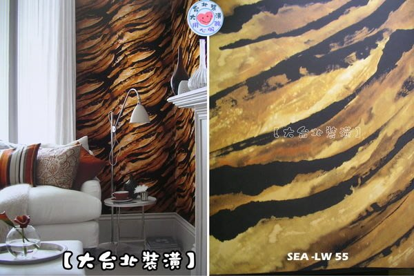 【大台北裝潢】美國Seabrook進口壁紙LW* Metropolitan 藝術(3色) 每支2800元