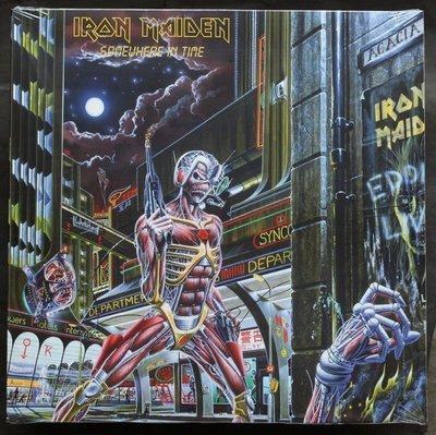 全新歐版黑膠 - 鐵娘子合唱團 / 似曾相識 Iron Maiden / Somewhere In Time