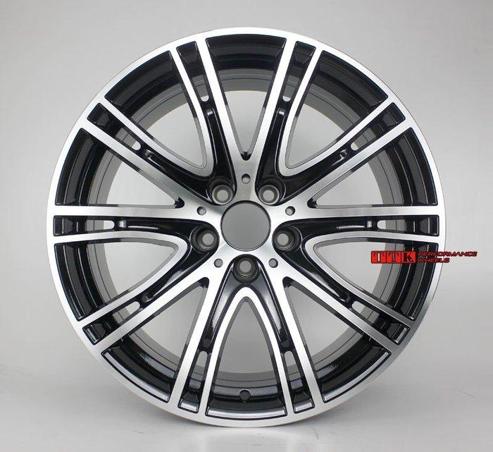 【台灣輪胎王】類BMW 2018年 原廠鋁圈式樣 19吋 5孔120 前後配 F:8.5J R:9.5J 黑車面
