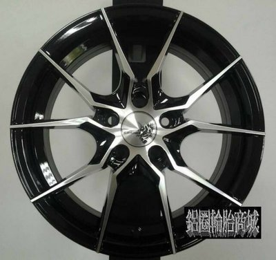 【CS-9747】全新鋁圈 BJ1 17吋鋁圈 亮黑+車面 4/100 4孔100 5孔114.3 5孔100 7.5J