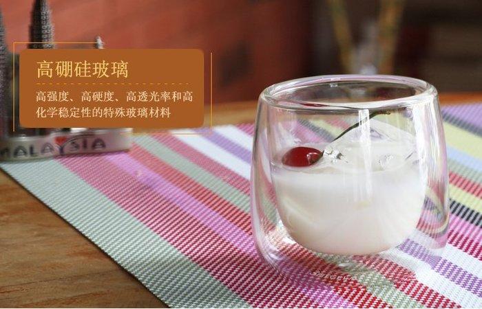雙層玻璃杯 80ml