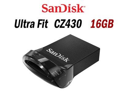 「Sorry」升級新款 CZ430 Sandisk Ultra Fit CZ43【讀取130MB、超輕薄】16G 隨身碟