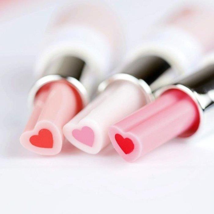 雙色夾心唇膏 防水保濕口紅 東京戀歌
