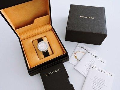 有盒單 專櫃真品 BVLGARI BULGARI 寶格麗 35mm B. Zero1 愛心系列 石英 女錶