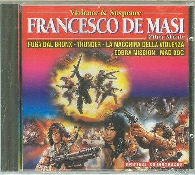 "[原聲帶]-""Violence & Suspense: Francesco De Masi""- 全新義大利版"