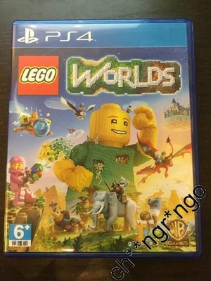 二手 PlayStation 4 PS4 LEGO WORLDS GAMES