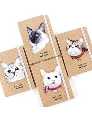 kitty&dog/記事本/萬用手冊/貓咪塗鴉記事本