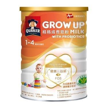 桂格成長奶粉三益菌配方1500g效期到2023/4/12超商取貨最多2罐