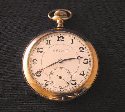 【藏家釋出】早期收藏 ◎ Admiral  瑞士古董懷錶 《TACY WATCH公司出品》◎ 品相很好 ◎ 朋友託售
