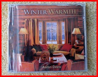 ◎全新CD未拆!歐美版-Aaron Davis-Winter Warmth-休閒音樂-舒暢-輕音樂-功能音樂-等12首