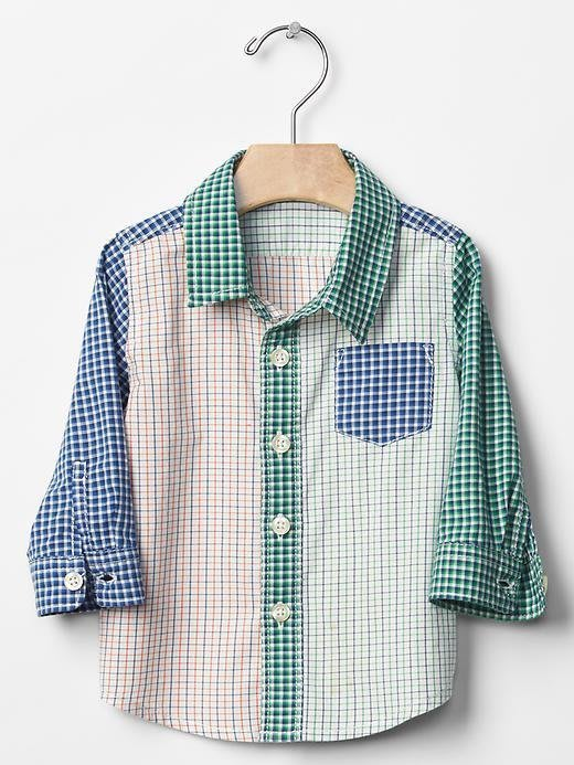 BabyGap 男童長襯衫 18-24M (此項商品為加購價, 購買其他原價商品3件以上可加購此商品)