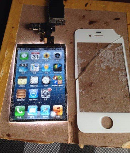 IPHONE 6  5.5吋更換外屏玻璃螢幕