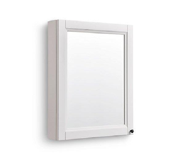 御舍精品衛浴 Kohler HARKEN 茜卡鏡櫃 600mm  (淺灰色) K-29255T-L-CLG