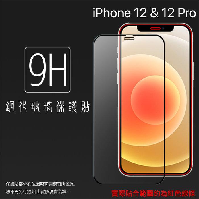 Apple iPhone 12 A2403/12 Pro A2407 6.1吋 滿版 鋼化玻璃保護貼 9H 鋼貼 保護膜