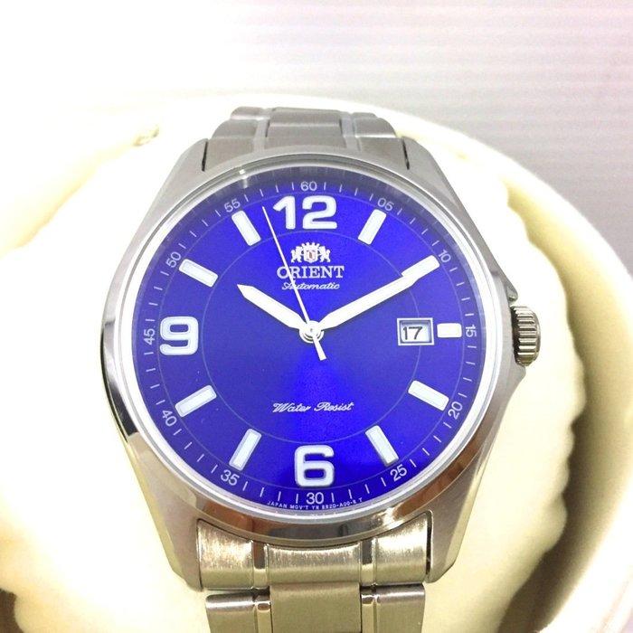 日本進口 ORIENT 東方穩重錶款,FER2D007D,免運費!