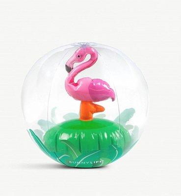 (預購)SUNNYLIFE 紅鶴/螃蟹3D 充氣沙灘球  Crabby 3D PVC beach ball