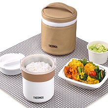 THERMOS [日本膳魔師]一人份(0.7杯米/約1.6碗飯) 電子炊飯器JBS-360 WH(白色) [普羅3C]