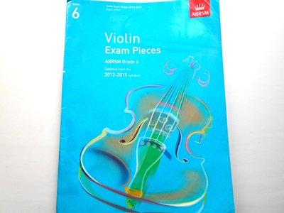 ABRSM Grade 6 Violin Exam Pieces 小提琴 琴譜