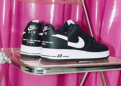 SUPREME X CDG NIKE AIR FORCE 1 LOW 熱門聯名 come des