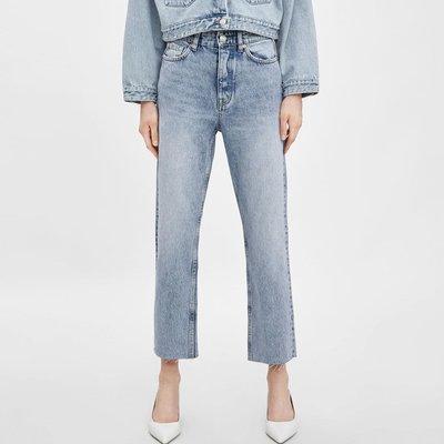 korea seoul PRAY light blue denim mom jeans pants top shop cos lv韓國超靚天藍洗水牛仔褲 襯衫
