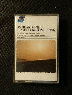 錄音帶/卡帶/AC113/古典演奏 /Fantasia on greensieeves morning…/綠袖子幻想曲 春聞杜鵑等/盧巴克/非CD非黑膠