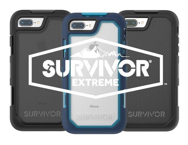 Griffin Survivor Summit iPhone 7/8 Plus超強韌保護套組 地表最強保護殼2017新版
