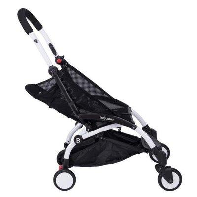 ☜男神閣☞Babygrace 嬰兒推車專用網墊網座布 推車配件三折車夏季網布坐墊