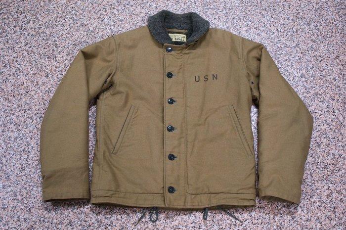 Buzz Rickson N-1 Deck Jacket 甲板夾克 防寒外套