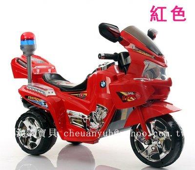 【淘氣寶貝】1046 I/**新款 雙驅動童車 仿真電動機車 可外接MP3 兒童仿真電動摩托車 現貨~特價~#