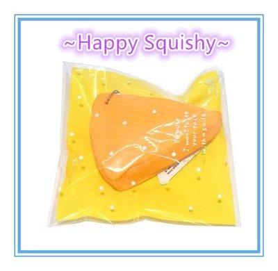 ~Happy Squishy~ Squishy 乳酪蛋糕/起司塊 Cheese Squeeze ~可拉軟軟(橘色款)