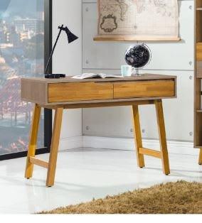 【南洋風休閒傢俱】書架 書櫃 書櫥 展示櫃 收納櫃 造形櫃 置物櫃系列-艾倫3.5尺書桌 CY408-668