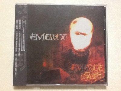 ~拉奇音樂~ 浮現  Emerge VCD+CD影音雙向 全新未拆封。主音,絲襪小姐,929,,演唱。團。