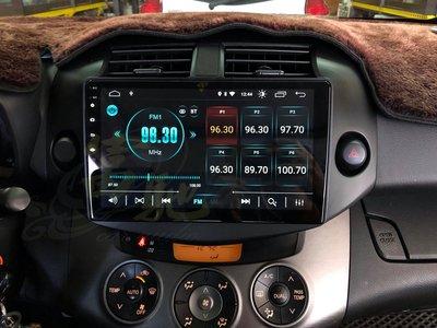 富馳汽車音響 JHY M3 PRO TOYOTA RAV4 2008~2013 10吋專用安卓導航影音主機
