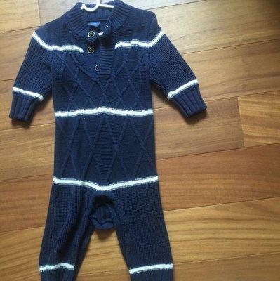 日本帶回全新GAP連身寶寶毛衣帥裝
