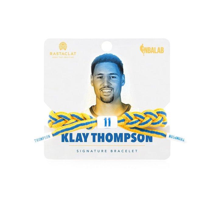 【Brand T】RASTACLAT NBA KLAY THOMPSON 湯普森*勇士隊*球星*鞋帶*手環*雷獅特*衝浪