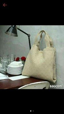 Pinkoi 購入 Bagcom Masaki B-Tote 雙層購物包-抹茶綠