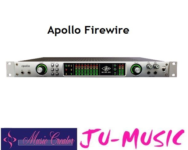 造韻樂器音響- JU-MUSIC - Universal Audio Apollo Quad Firewire 公司貨
