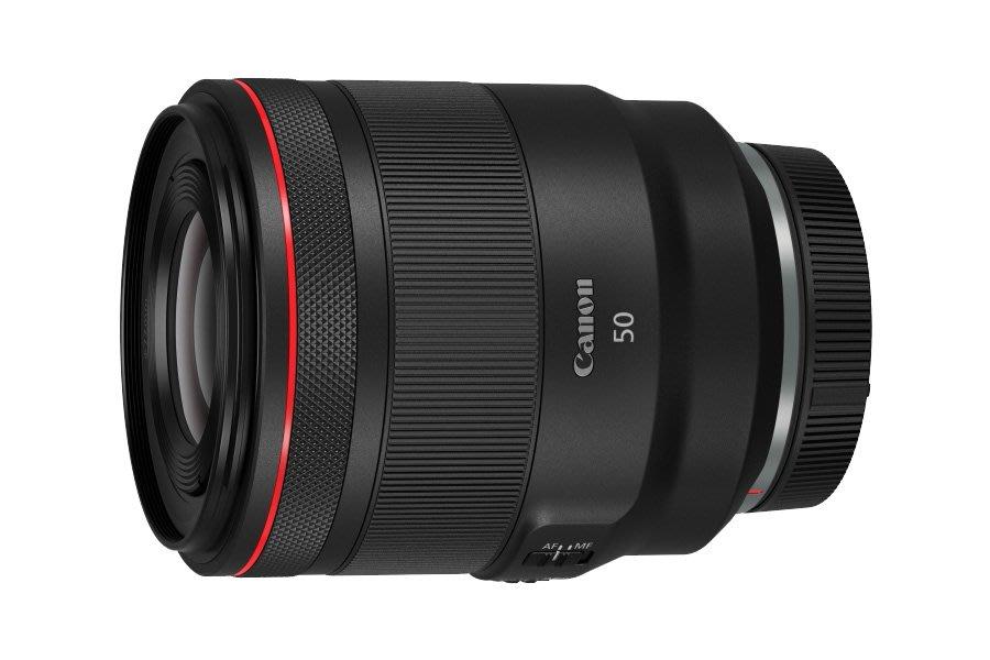 Canon  RF 50mm F/1.2L USM 數位單眼 相機鏡頭 全片幅《R系列鏡頭 》WW