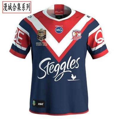 冠軍雄雞紀念版橄欖球衣18-19 Rooster rugby Jersey oua8899