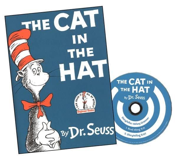*小貝比的家*CAT IN THE HAT /BKCD/袋裝/3~6歲