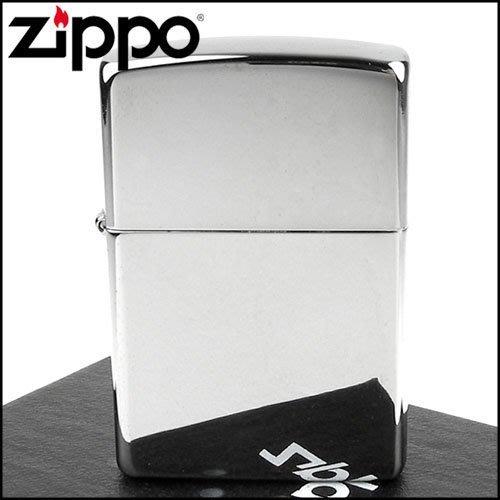 ☆哈洛德小舖☆全新【ZIPPO】美系~拋光鍍鉻鏡面打火機(寬版) NO.250
