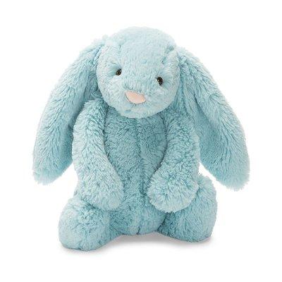 預購 英國 JELLYCAT各品項代購 最精緻的絨毛玩偶 邦尼兔 Bashful mint Bunny 湖水綠 安撫玩偶