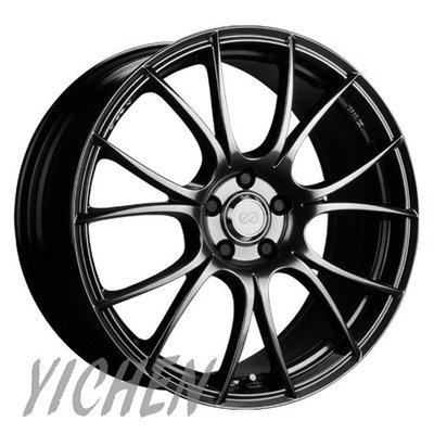 《大台北》億成汽車鋁圈量販中心-ENKEI 鋁圈 SC25 高亮黑