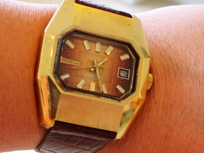 Tissot Vintage Seastar Gold Plated Automatic Mechanical watch (天梭復古鍍金自動機械手錶)