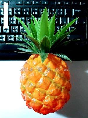 【花宴】人造水果*鳳梨(中)*旺旺來~櫥窗擺設~店面裝飾~攝影~乳膠材質~旺來