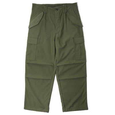 【AllenTAPS】WTAPS 19AW WMILL-65 TROUSER 軍褲 大口袋 軍綠色 L號