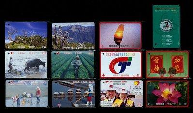 台北市公車票卡 共12張一起標 【C1131】