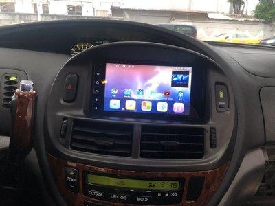 汽車音響 豐田專用型主機 七吋 Android 安卓版 2DIN 觸控螢幕主機導航/ USB/ 電視/ 鏡頭/ GPS/ 藍芽 彰化縣