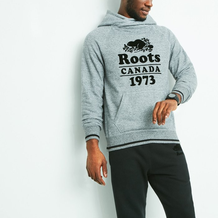 ~☆.•°莎莎~*~☆~~加拿大ROOTS CABIN CROSSOVER HOODY 連帽長T~
