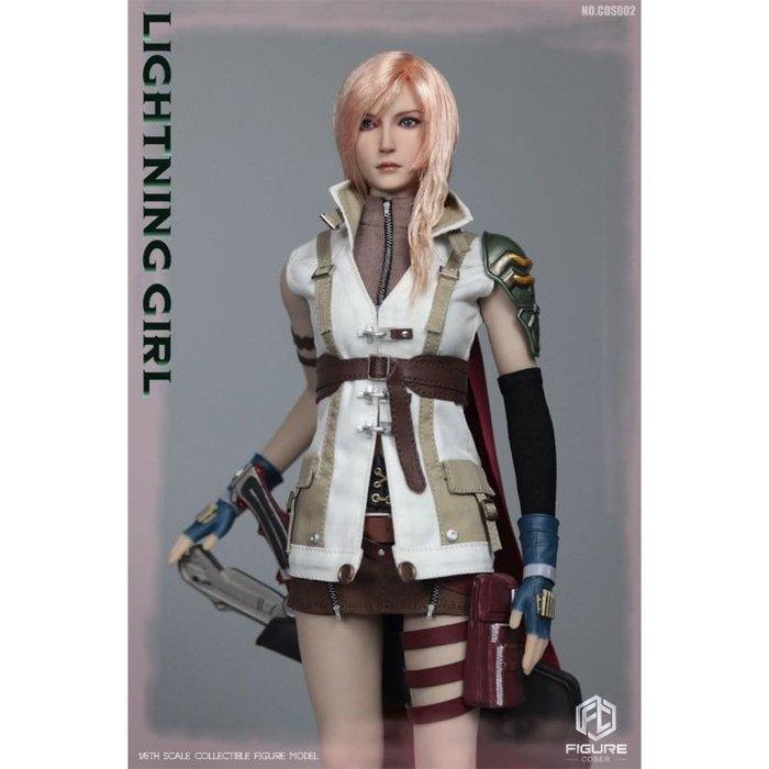 FIGURECOSER 1/6 COS002 幻想 雷霆女戰士 女兵人模型配件包 太空戰士